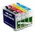 Комплект ПЗК для Epson S22 / SX125 / SX130 / SX230 / SX235 / SX420W / SX425 / SX430W / SX435W / SX440W / SX445W (128 картридж) (заправленный)