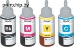 Набор контейнеров (6 цветов) с водорастворимыми чернилами Epson для Epson L800/L805/L1800